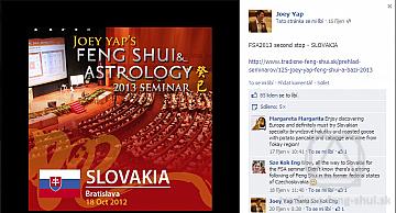 Fotografie z návštevy Joeyho Yapa na Slovensku - 18.-19.10.2012-11