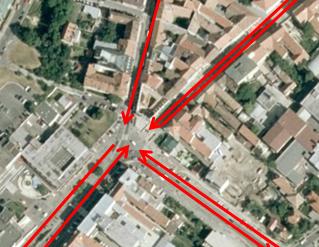 Analýza exteriérového feng shui v meste